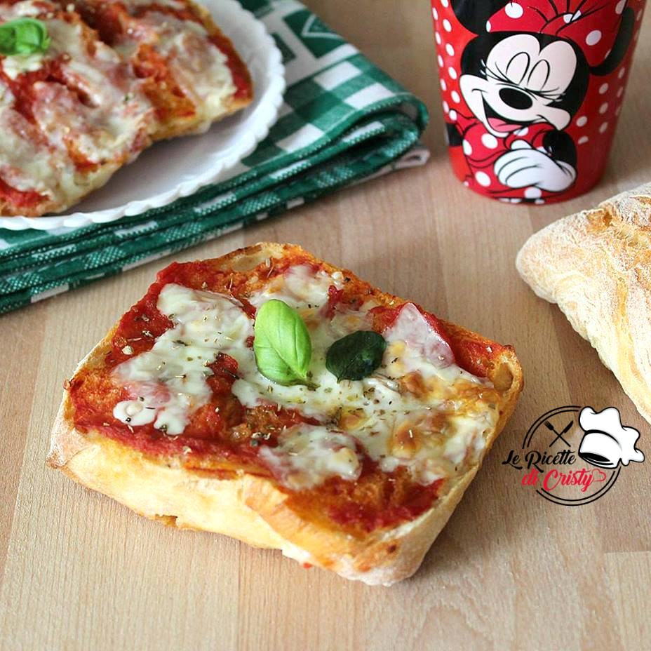PIZZA DI PANE MERENDA GOLOSA