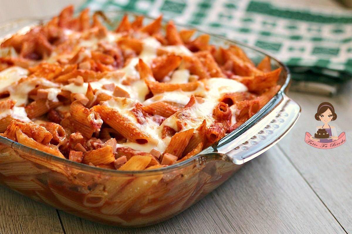 Penne Al Forno Con Besciamella Tutto Fa Brodo In Cucina