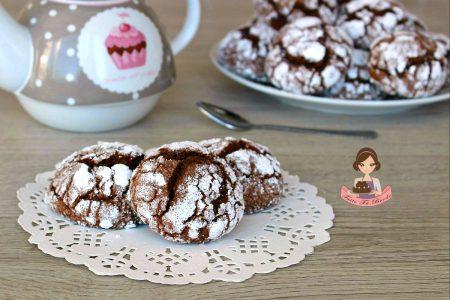 CHOCOLATE CRINKLES O BISCOTTI VULCANO