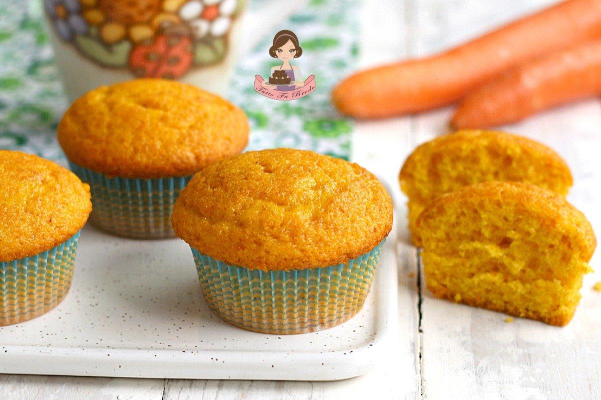 Ricetta Muffin Alle Carote.Muffin Alle Carote Morbidi Tipo Camille Tutto Fa Brodo In Cucina