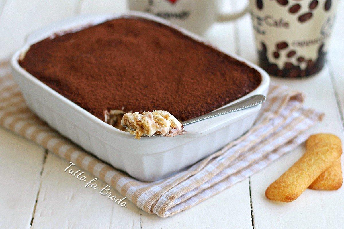 TIRAMISU' AL CAFFE' CON I PAVESINI