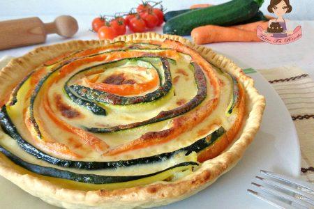 TORTA SALATA ALLE CAROTE E ZUCCHINE